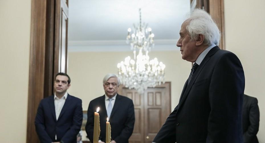 Ο Ρουπακιώτης ορκίστηκε υπηρεσιακός υπουργός Εσωτερικών