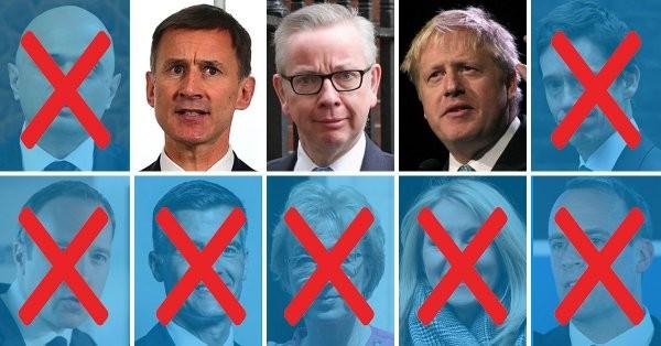 Βρετανία: Ο Τζόνσον και άλλοι 2 για την ηγεσία των Τόρις