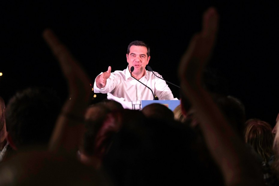 Ομιλία Τσίπρα στην Καβάλα το βράδυ της Πέμπτης
