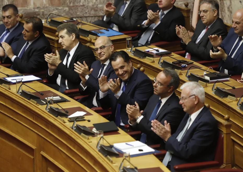 Ο Γεωργιάδης προχωρά την ποινική ασυλία των τραπεζικών στελεχών