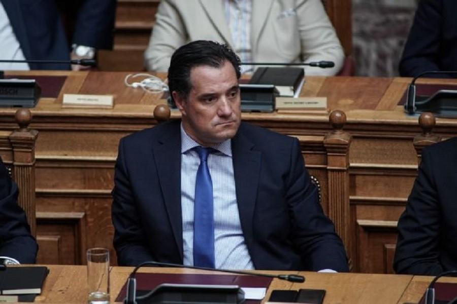 Διευκρινήσεις Γεωργιάδη για την τροπολογία με την επένδυση στο Ελληνικό