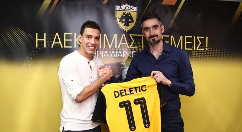 Παίχτης της ΑΕΚ και επίσημα ο Μίλος Ντέλετιτς