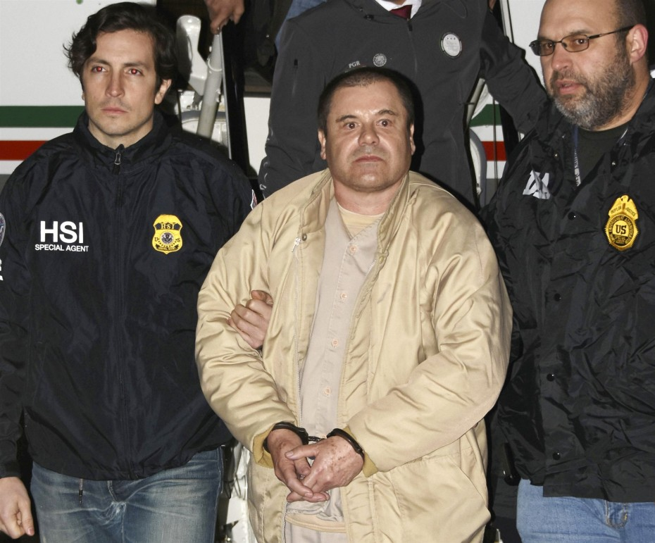 Ισόβια σε αμερικανική φυλακή για το διαβόητο ναρκέμπορο «Ελ Τσάπο»
