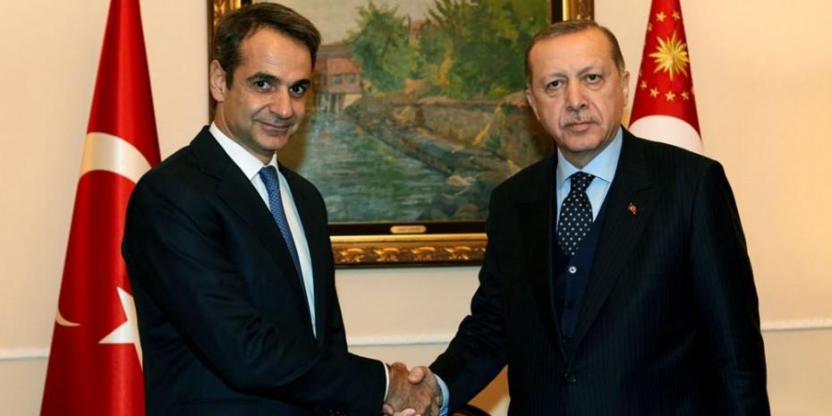 Πρώτο και σημαντικό τηλεφώνημα για Κυριάκο: Συγχαρητήρια Ερντογάν!