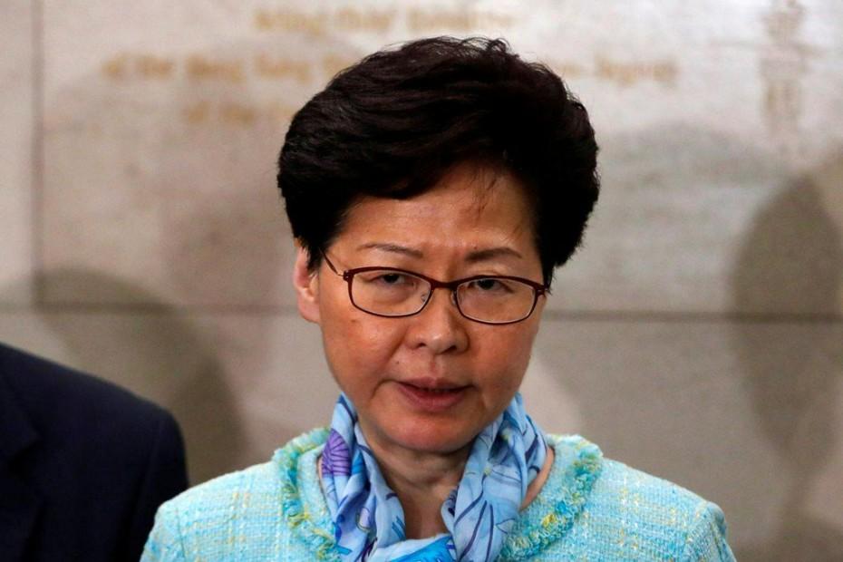 Παραδοχή ήττας από την κυβερνήτη του Χονγκ Κονγκ