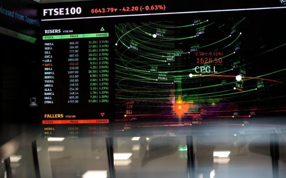 Κέρδη στις ευρωαγορές, με ώθηση από τα κινεζικά μάκρο