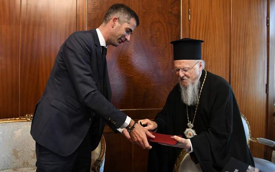 Συνάντηση Κώστα Μπακογιάννη με τον Βαρθολομαίο στο Φανάρι