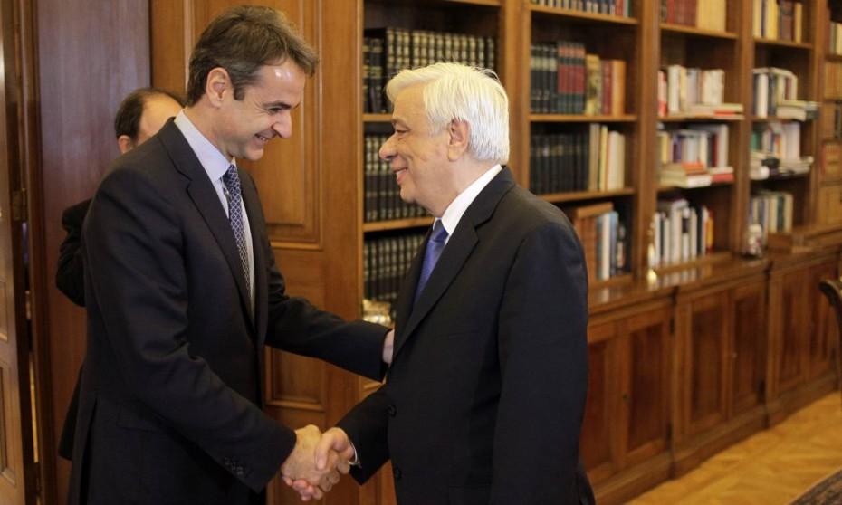 Το μεσημέρι της Δευτέρας ορκίζεται πρωθυπουργός ο Μητσοτάκης