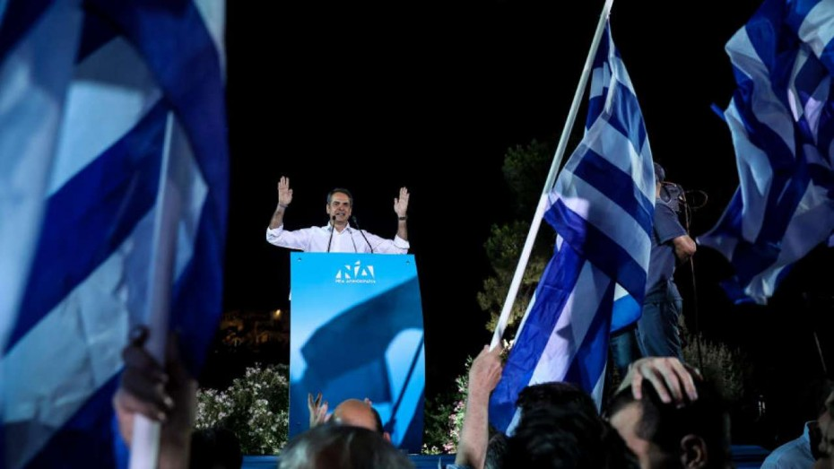 Ο Κυριάκος ο νέος πρωθυπουργός της Ελλάδας με ισχυρή εντολή!