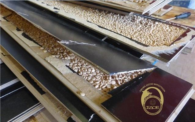 Εκατομμύρια «χάπια των τζιχαντιστών» σε κοντέινερ στο Κερατσίνι