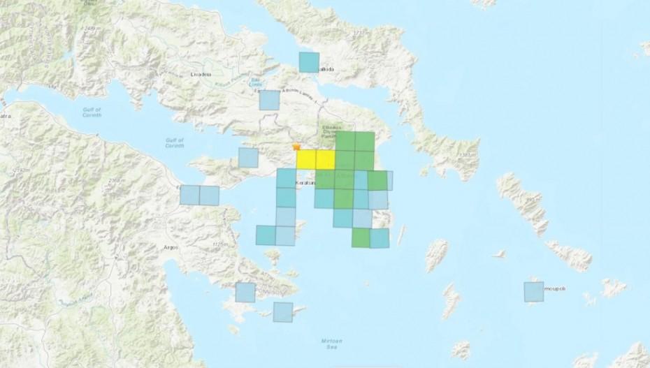 Ομαλά οι πρώτες ώρες μετά από τον ισχυρό σεισμό στην Αθήνα