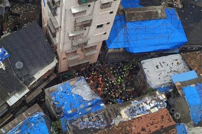 Στους 13 οι νεκροί από την κατάρρευση κτιρίου στο Μουμπάι