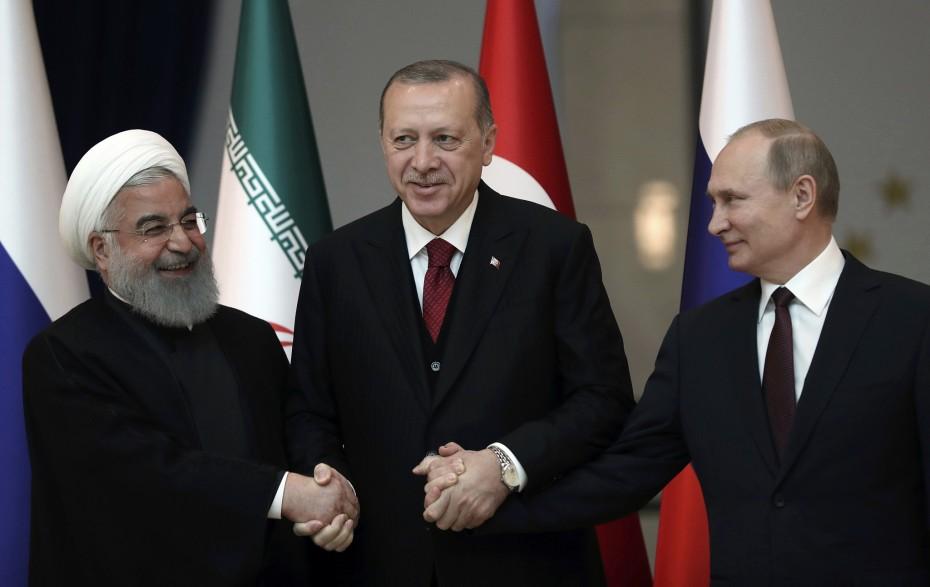 Τριμερής Τουρκίας - Ιράν - Ρωσίας για την διαμάχη στη Συρία
