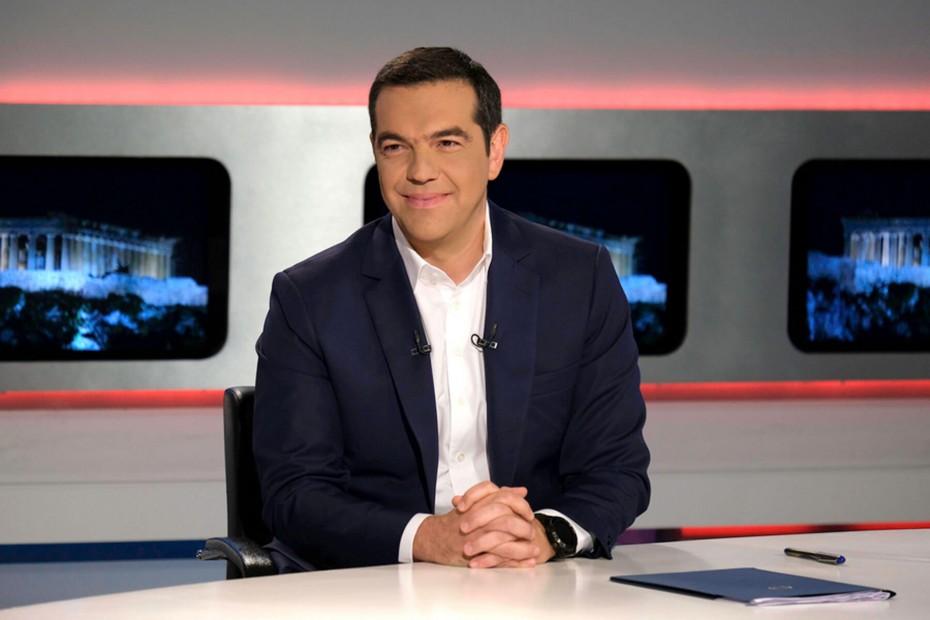 Αντί για τον ΑΝΤ1, στην ΕΡΤ η τελευταία συνέντευξη του Τσίπρα