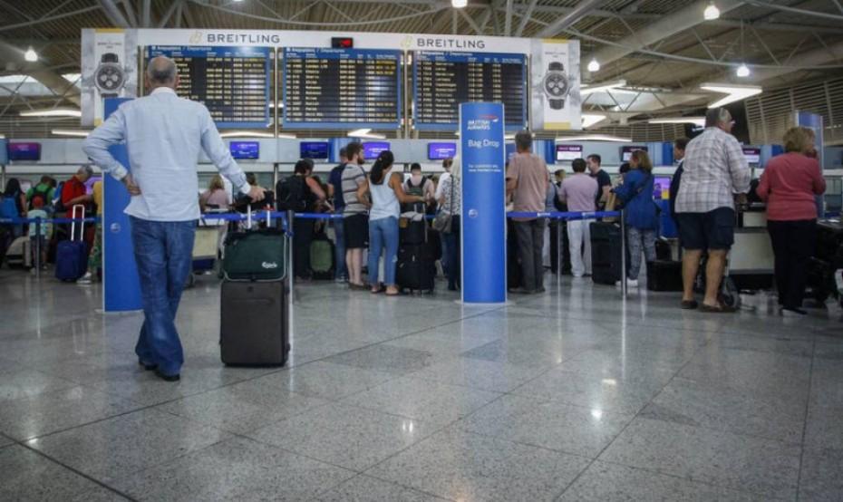 Αύξηση των επισκεπτών στα ελληνικά αεροδρόμια για το 7μηνο του 2019