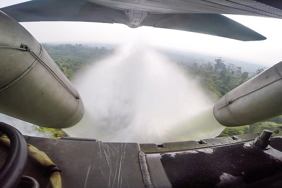 Ειδικά C-130 του στρατού για τις πυρκαγιές στον Αμαζόνιο