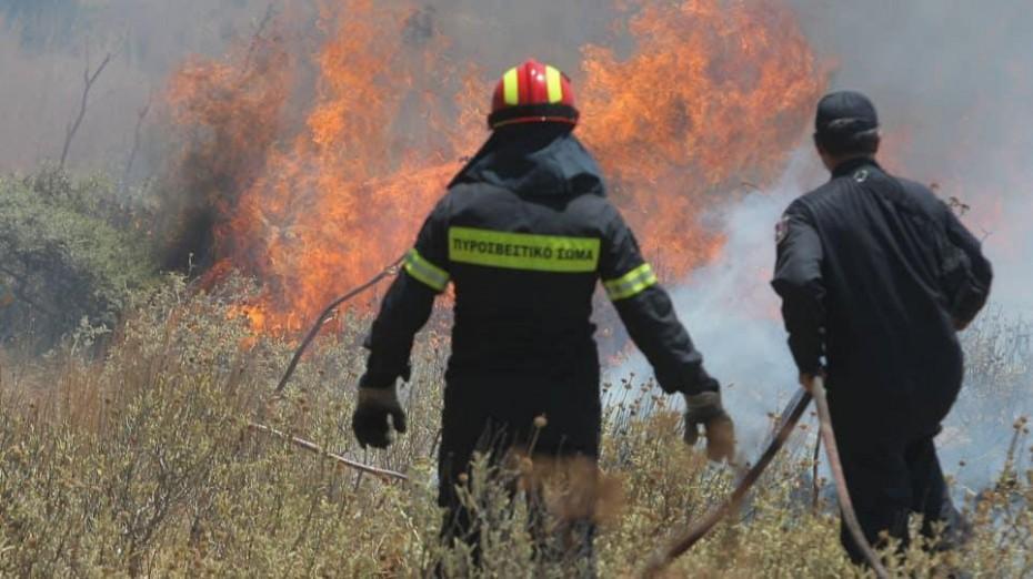 Μεγαλώνει η πυρκαγιά στο Κιλκίς - Χωρίς απειλή για σπίτια μέχρι στιγμής
