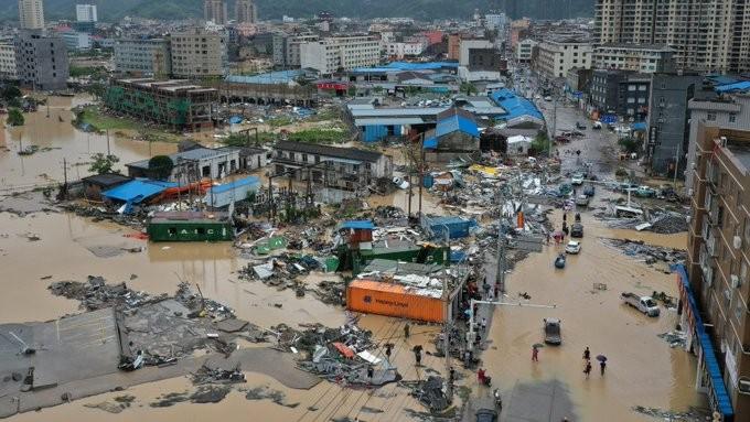 Κίνα: Αυξάνονται οι νεκροί από τον τυφώνα Λεκίμα