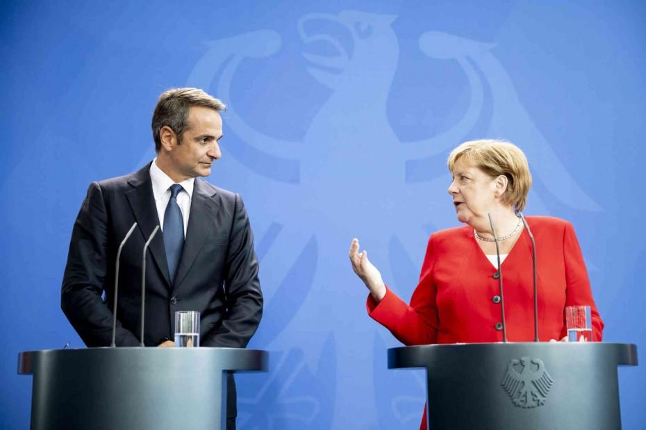 Τι λένε οι Γερμανοί για τη συνάντηση Μέρκελ - Μητσοτάκη