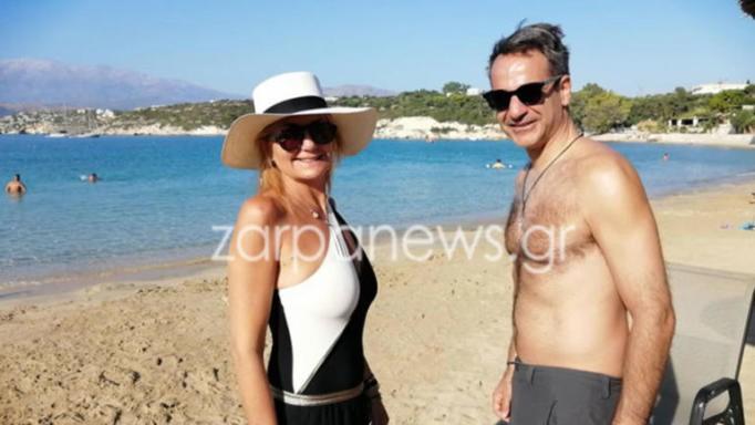 Διακοπές στα Χανιά για Μητσοτάκη-Μαρέβα