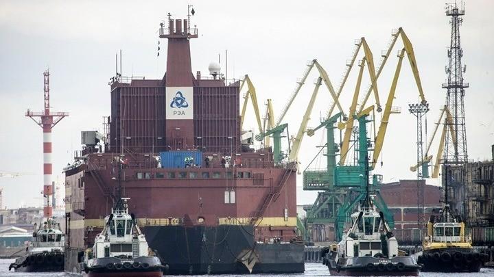 Πλωτός πυρηνικός σταθμός ταξιδεύει για την Αρκτική