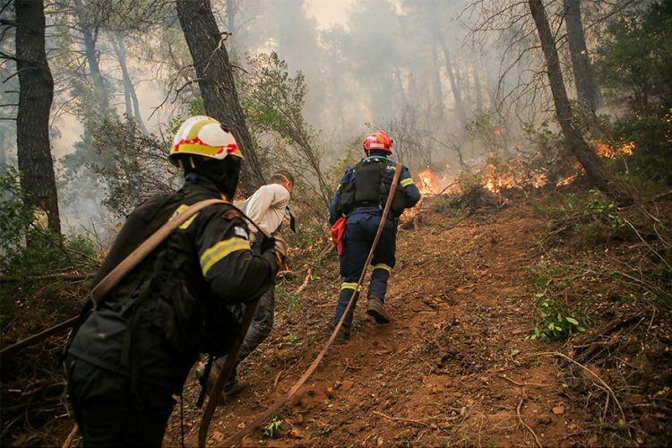 Καλύτερη η εικόνα από τη μεγάλη πυρκαγιά στην Εύβοια