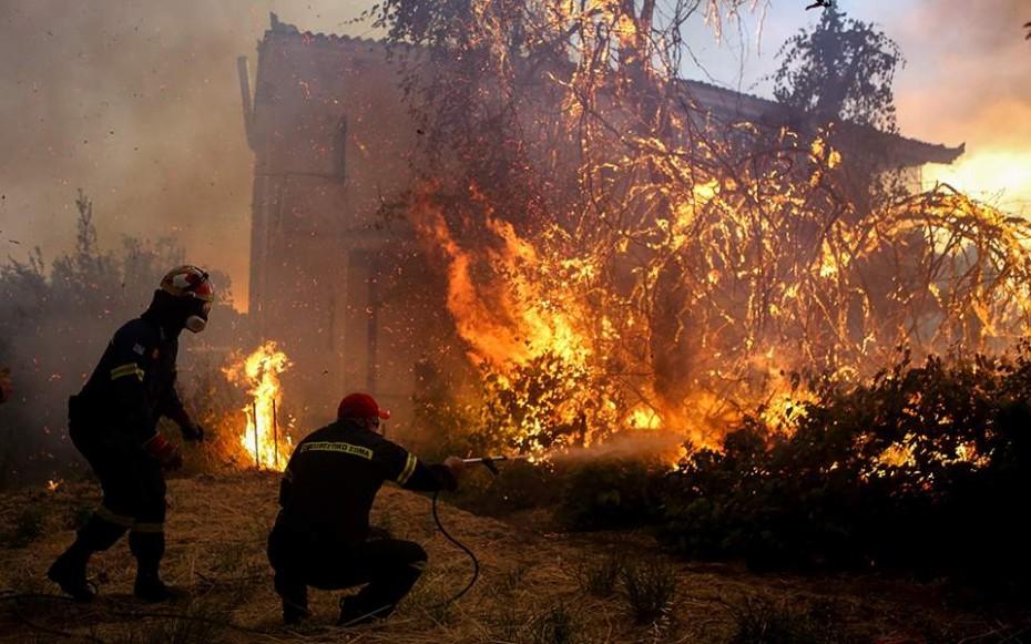 Πυρκαγιά στην Εύβοια: Ιταλία και Κροατία στέλνουν βοήθεια