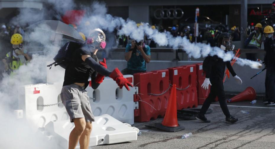 Πάνω από 80 συλλήψεις διαδηλωτών στο Χονγκ Κονγκ