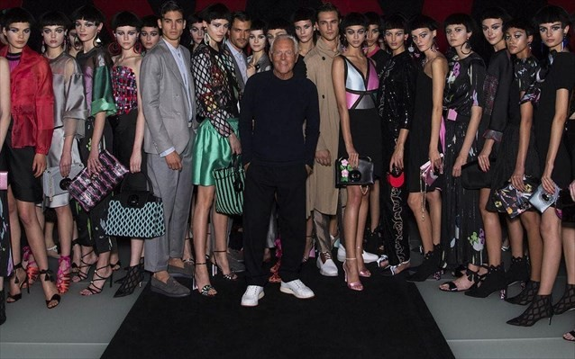 Βραβείο στον Τζόρτζιο Αρμάνι από το Βρετανικό Συμβούλιο Μόδας