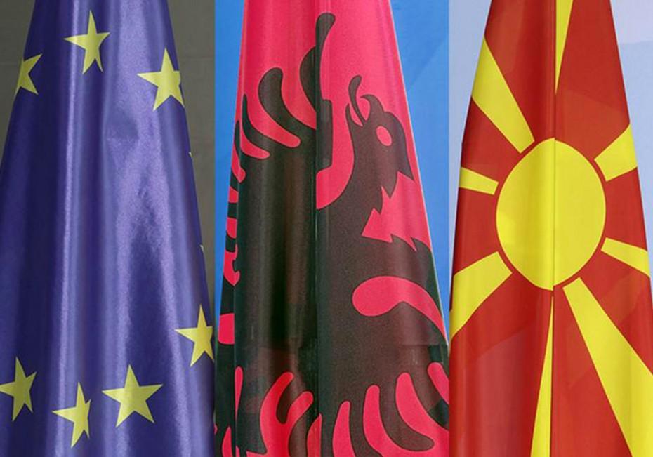 Β. Μακεδονία και Αλβανία πιο κοντά στις ενταξιακές συζητήσεις με την ΕΕ