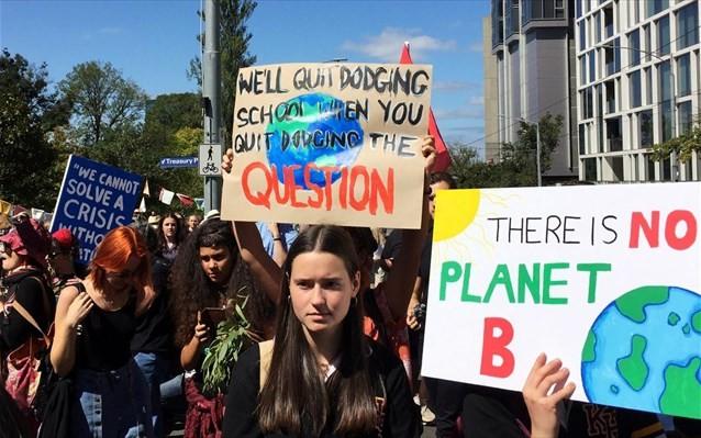 Δεκάδες αρχηγοί κρατών ζητούν δράση για την κλιματική αλλαγή