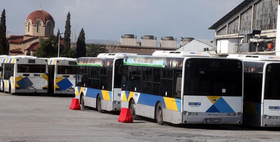 Μετ' εμποδίων η κυκλοφορία των λεωφορείων στις 2 Οκτωβρίου