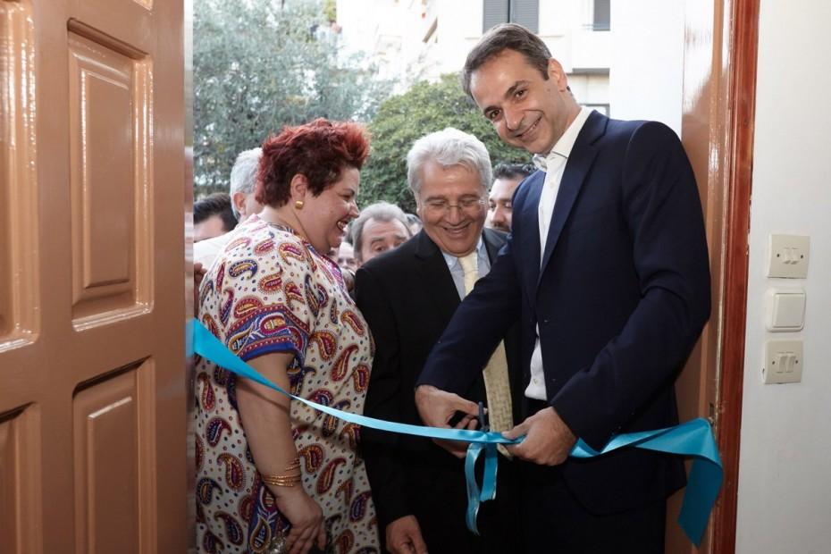 Πρωθυπουργική «κορδέλα» στο νέο μουσείο Βασίλη και Ελίζας γουλανδρή