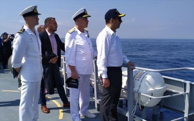 Πλακιωτάκης: Ενισχύεται η ασφάλεια στα θαλάσσια σύνορα