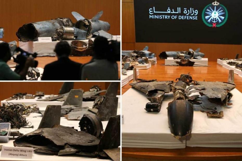 Η Σ. Αραβία παρουσίασε «στοιχεία» για την επίθεση του Ιράν στην Aramco