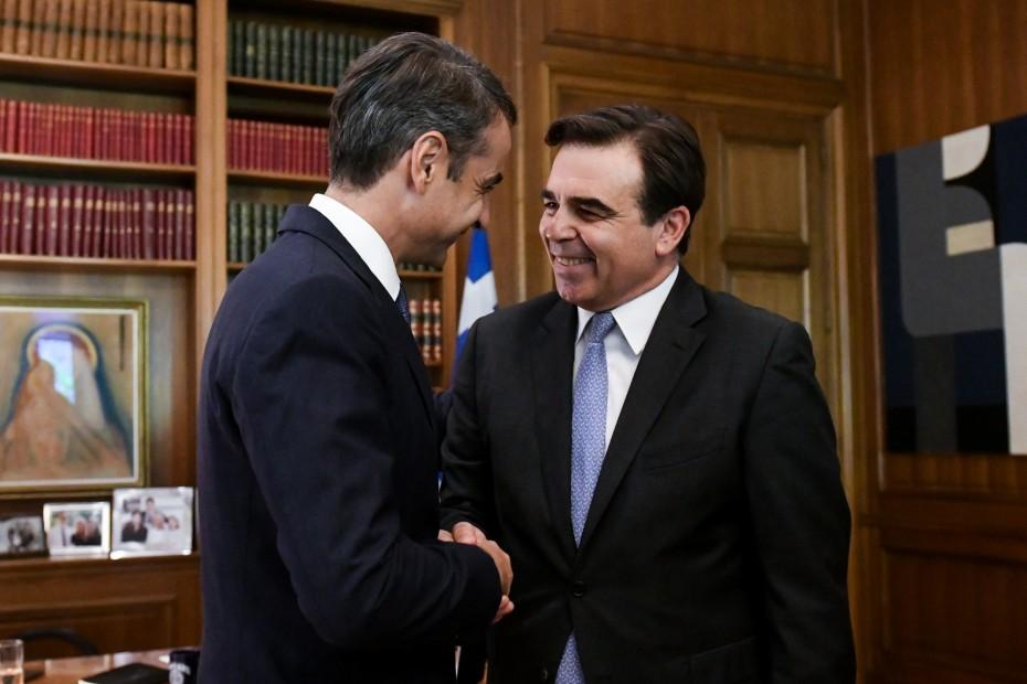 Μητσοτάκης για Σχοινά: «Ψήφος εμπιστοσύνης στον ίδιο και στην Ελλάδα»