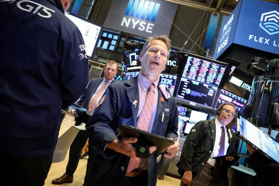 Θετικά πρόσημα στη Wall Street, στον απόηχο της ΕΚΤ