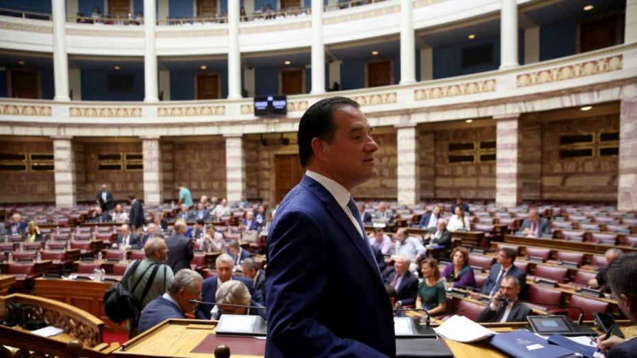 «Έκρηξη» στο πολιτικό σκηνικό με τη «βόμβα» Γεωργιάδη γα χρηματισμό Τσίπρα-Πολάκη