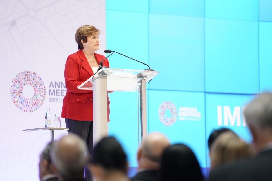 Με το «καλημέρα» οι ανησυχίες της Γκεοργκίεβα για την παγκόσμια οικονομία