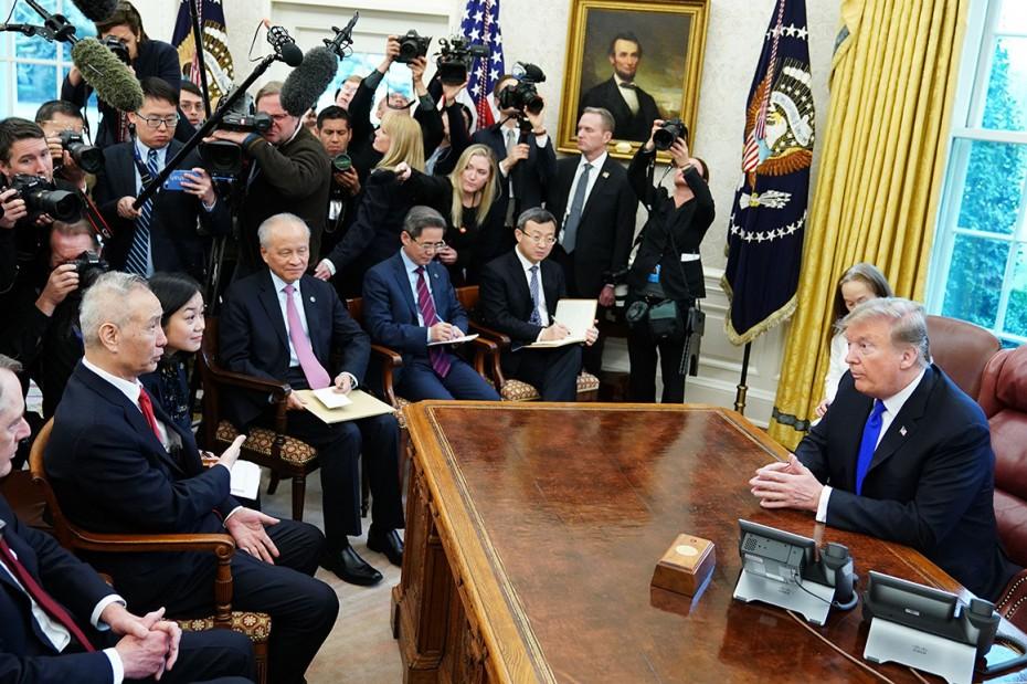 Την Παρασκευή η συνάντηση Τραμπ με τον Κινέζο αντιπρόεδρο για το εμπόριο
