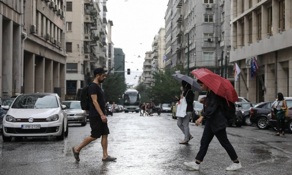 Βροχές και πτώση της θερμοκρασίας για την Παρασκευή