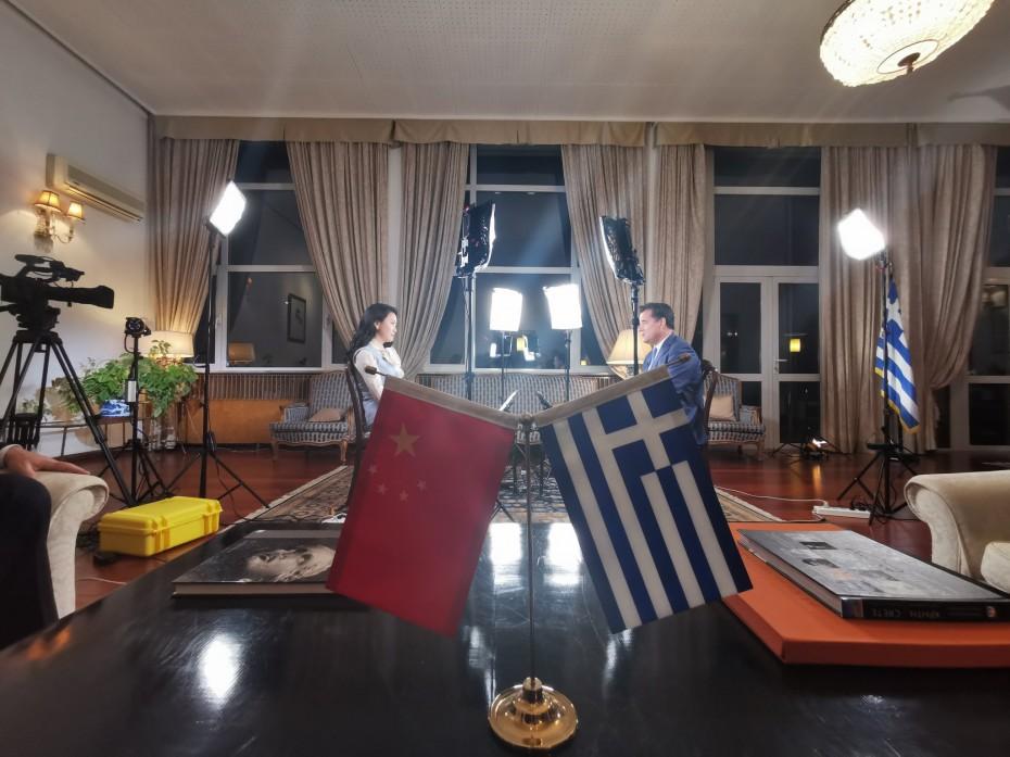 Επενδύσεις από την Κίνα «ψάρεψε» ο Γεωργιάδης