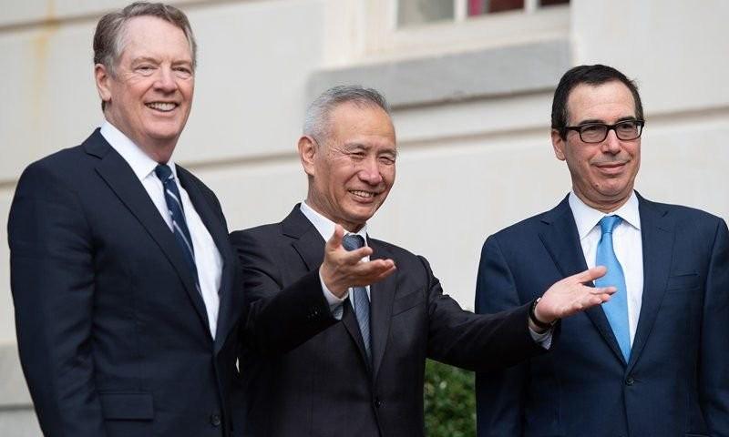 Θετικές ενδείξεις για τις εμπορικές συζητήσεις ΗΠΑ και Κίνας