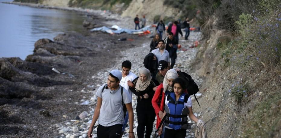 Συνεχίζονται κατά εκατοντάδες οι νέες αφίξεις προσφύγων στη Λέσβο