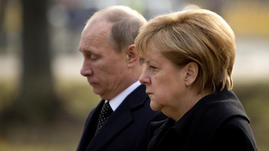 Τα... είπαν τηλεφωνικά Πούτιν-Μέρκελ για Συρία, Λιβύη και Ουκρανία