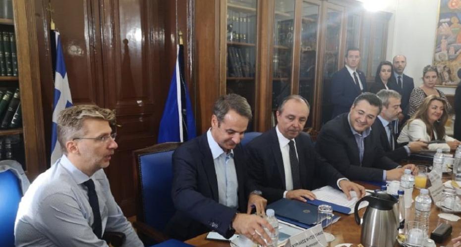 Σύσκεψη υπό τον Μητσοτάκη για τα έργα υποδομής στη Θεσσαλονίκη