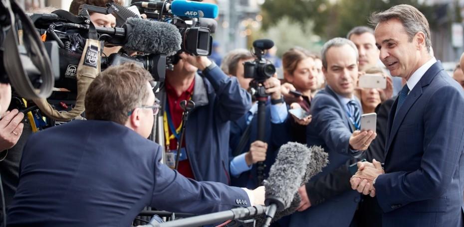Εύσημα των Ευρωπαίων σε Μητσοτάκη για την οικονομία, λέει το Μαξίμου