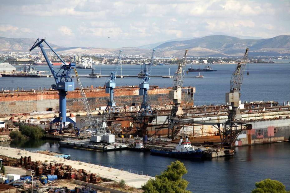 Κοντά στα 30 εκατ. ευρώ για τα ναυπηγεία Σκαραμαγκά και Ελευσίνας