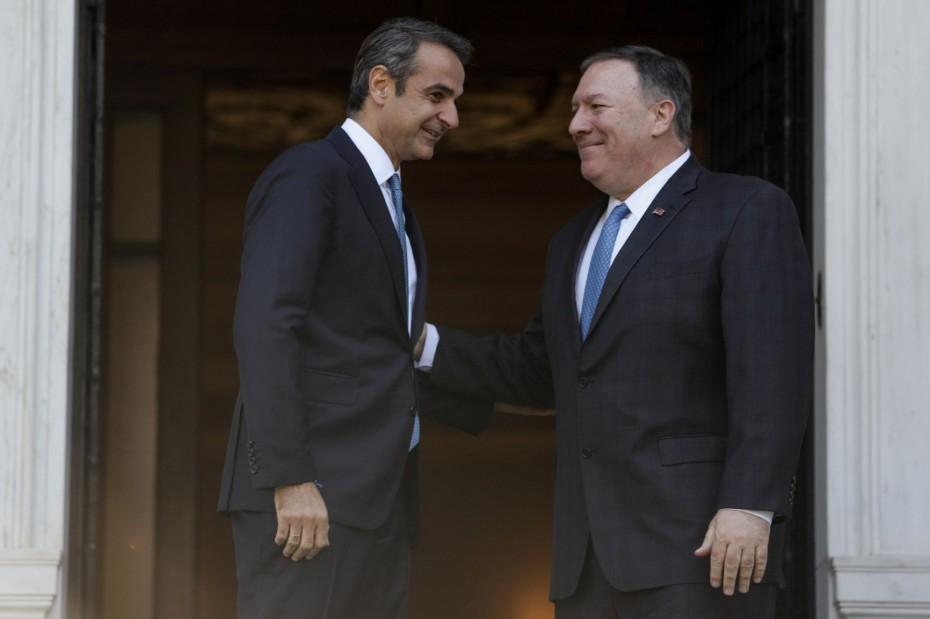 Μήνυμα Πομπέο για αναβάθμιση των σχέσεων Ελλάδας-ΗΠΑ