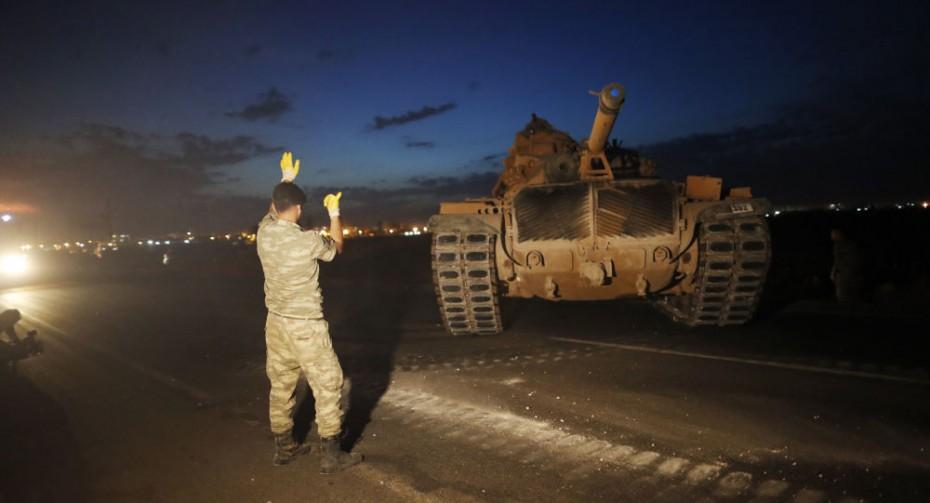 Τα πρώτα θύματα από την εισβολή της Τουρκίας στη Συρία